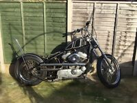 Harley Davidson 883 hardtail chopper (project)