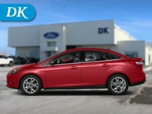 2014 Ford Focus Titanium Sedan w/Leather, Moonroof, Nav, and Mor