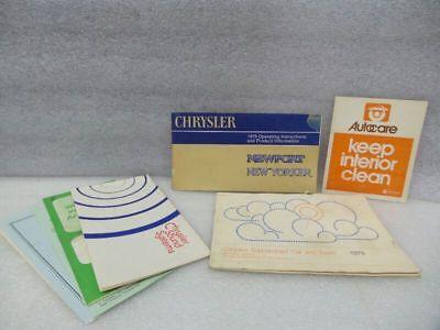 NEWPORT   1979 Owners Manual 16539