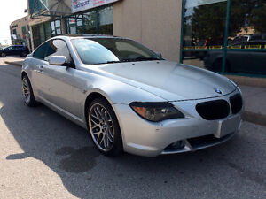 2004 BMW 645ci Coupe-FULLY LOADED-PANO ROOF-NAV-CERTIFIED