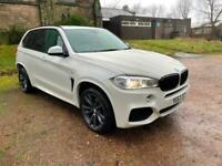 63 BMW F15 X5 30D M SPORT PEARL WHITE 7 SEATER 3.0( 258bhp ) 4X4 Auto 2014MY