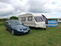 1999 BAILEY PAGEANT CHAMPAGNE 4 / 5 BERTH TOURING CARAVAN WITH AWNING AND EXTRAS READY TO GO