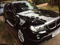 BMW X3 07 Estat black