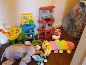 Great offering (bunch of toys) for your kids.