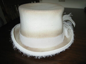 Mens top hat, wool