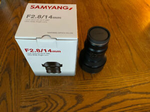 Samyang SY14M-E 14mm F2.8 Sony E-Mount