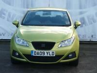 2009 SEAT IBIZA 1.6 SPORTCOUPE 3 DOOR 6 SEAT SERVICE STAMPS 16 INCH ALLOY WHEELS