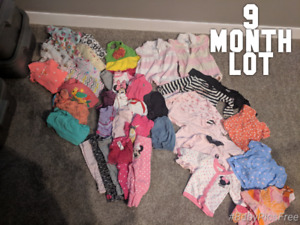 9 month girl lot