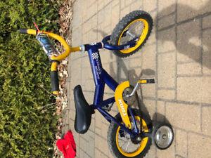 Vélo enfants avec petites roues