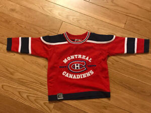 Montreal Canadians Jersey - 12-18 months -Brand New