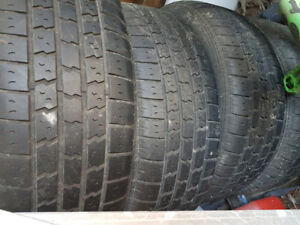 P225/60R16 Summer Tires on Honda Rims