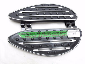 NEW Aftermarket CNC Driver floorboard deep cut Softail Touring