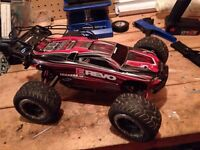 Traxxas erevo rtr upgraded