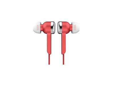 (Red Supersonic IQ-113 Light Weight Digital Stereo Earphones In-Ear Headphones)