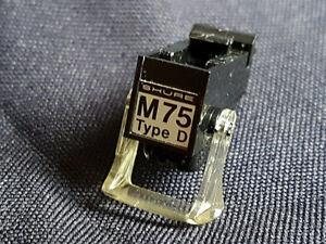 Aiguille de tourne disque shure m75 type D