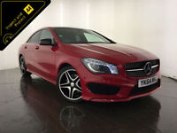 2014 64 MERCEDES-BENZ CLA 220 AMG SPORT CDI AUTO 1 OWNER FROM NEW FINANCE PX
