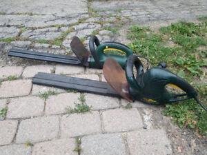 YardWorks corded electric hedge trimmer