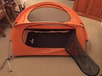 Great condition nomad travel cot
