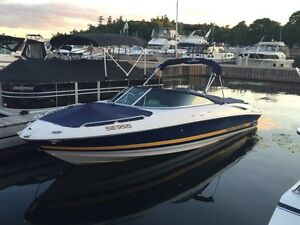 2002 Monterey 228SS Bowrider and trailer
