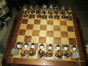 Ducks Unlimited Chess Set