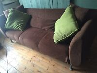 IKEA three and two seat sofas/settees/suites