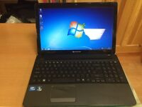 Fast 4GB Packard bell HD 320GB window7,Microsoft office,kodi installed,ready to use,mint condition