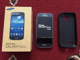 Samsung S4 Mini GT-I9195 Black boxed O2/Tesco/Giffgaff