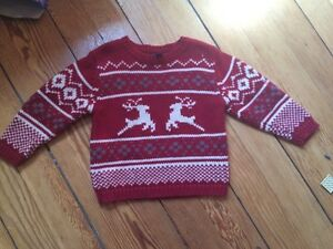 Winter sweater from baby gap 3t