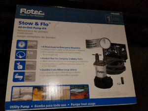 Pompe flotec stow and flow