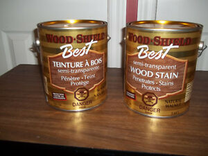 Wood-Shield (Best) Wood Stain- Natural Walnut