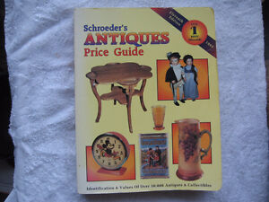 SCHROEDERS ANTIQUES PRICE GUIDE 1993