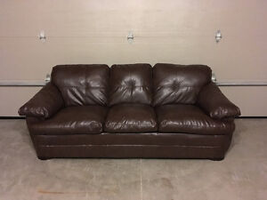 Bonded Leather Sofa For Sale!
