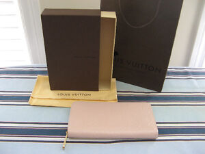 100% Authentic, Louis Vuitton Monogram Vernis Zippy Wallet