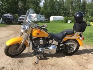 For sale by owner, 2000 Harley Davidson Fatboy Anniversary Editi