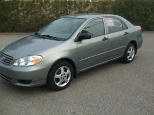 2004 Toyota Corolla Berline IMPECCABLE