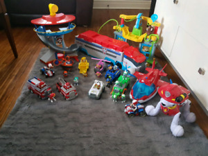 Paw Patrol HUGE LOT - EVERYTHING your kid will ever want