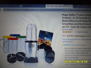MAGIC BULLET with PITCHER - 17 pce set
