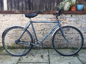 Dawes Diploma Vintage Retro Mens Town Bike 20 Inch Frame 3 Speed Excellent Condition