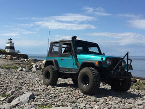 1997 Jeep TJ Sport Convertible