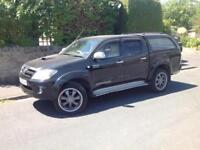 2006 TOYOTA HILUX INTIMIDATOR D/C 3.0 D4-D AUTO 4X4 BLACK ** ONE OF A KIND!!! **