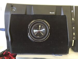 2015 tacoma subwoofer with box