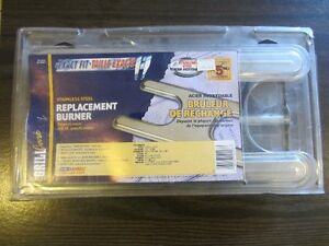 """OEM Barbacue """"H"""" shape stainless replacement burner 16"""" x 8"""""""