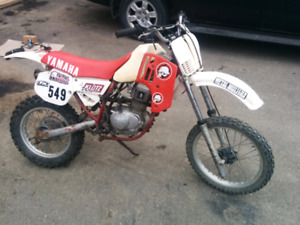 Yz 80 with honda xr 100 engine