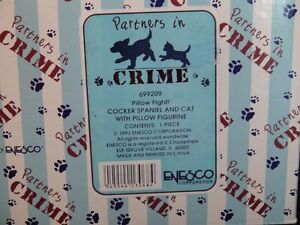 Partners In Crime Dog & Cat Figurine London Ontario image 7