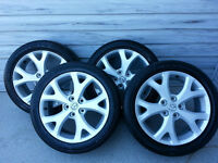 """17"""" Alloy Rims and Tires (Mazda3, 2.0)"""