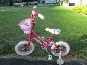 Girl's pink bicycle for sale
