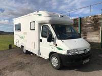 2004 Autocruise Starspirit Rear Lounge Motorhome