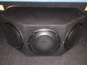 JL Audio Tripple 10w1v2 Subs