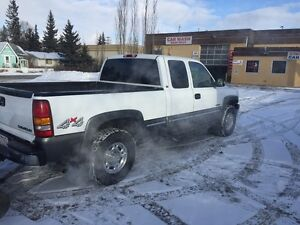 2004 Chevrolet C/K Pickup 2500 Pickup Truck with back plow