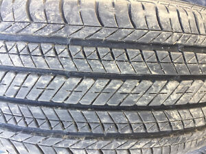 215/55R17 SUMMER TIRES LIKE NEW